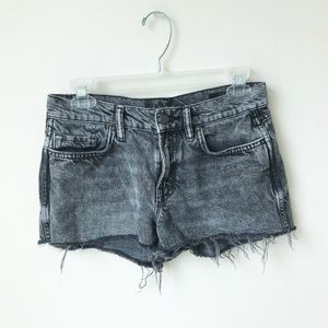 All Saints Grey Lea Shorts